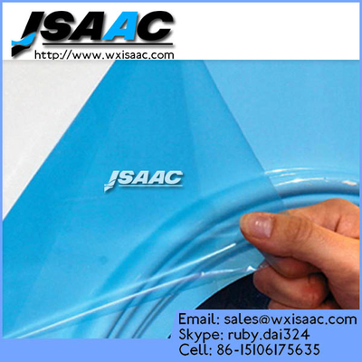 Protective film for mirrored stainless steel plate