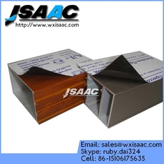 Black and white protective film to mulch aluminum extrusive profile