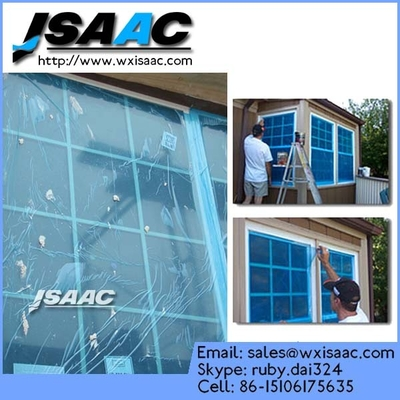 Glass protective film for window