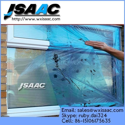 China High quality self-adhesive glass protective film / safety film / security film supplier