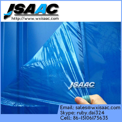 Colored steel plate protective film