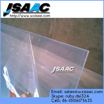 Hot selling upvc / pvc plastic sheet protective film china factory