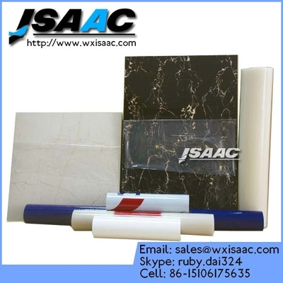 China For house decoretive painting floor protective adhesive backed plastic film supplier