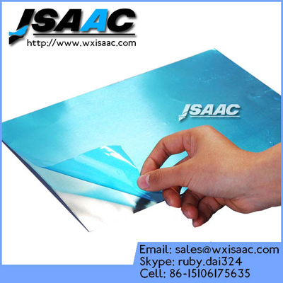 China Frosted steel plate protective film supplier