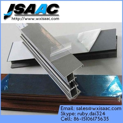 Protective film for powder coating aluminum profile
