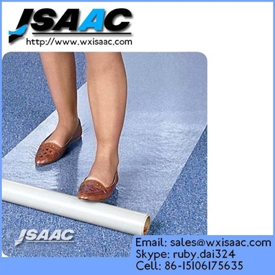 Self-Adhesive Carpet Protection Preventing Damage