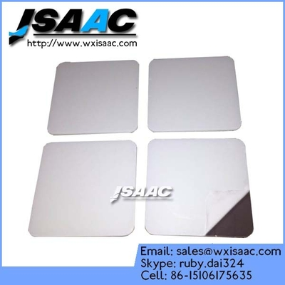Mirrorized safety backing glass protective film