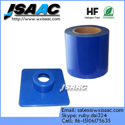 Barrier film perforated sheets with dispenser