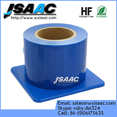 China Adhesive edges blue barrier film with dispenser supplier