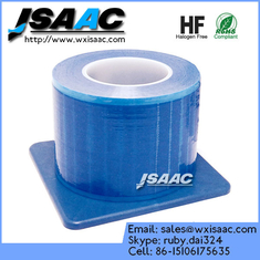 China Non-adhesive edges blue barrier film with dispenser supplier
