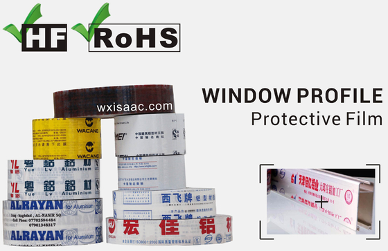 Protection film for aluminum profile