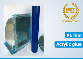 Great tear resistance duct protective film temporary pe protecitve film without residue
