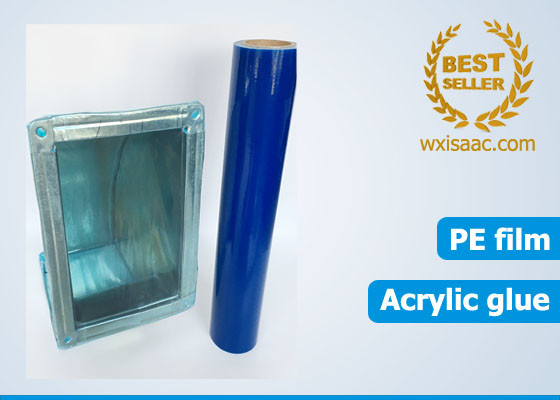 Cut resistant hvac duct and vent protection film blue temporary pe protective film