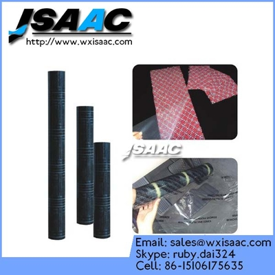 China Black-White Polyethylene Protective Film For Carpet factory
