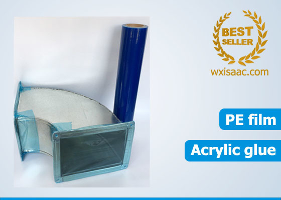 Anti puncture no residue HVAC duct protection film temporary pe protective film