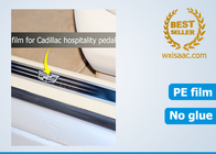 Protective film for Cadillac door sill protector / etching stainless steel scuff plate