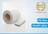UV resistant non residue protective film for sahara alu profile / extruded aluminium profile / aluminium extrusion