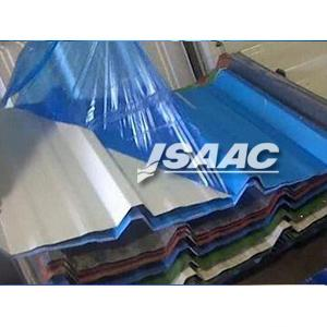 Powder coated surfaces protective film