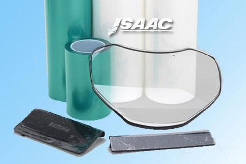 Electrostatic protective film for glass industry