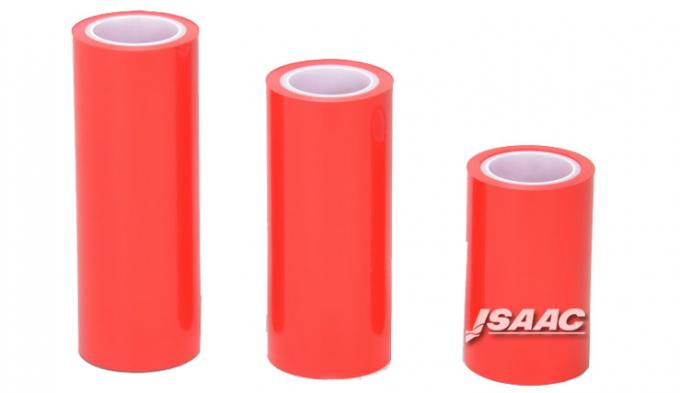 Red color electrostatic protective film