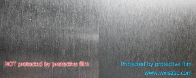 Protective film for brushed stainless steel No. 4 finish HOT SALE