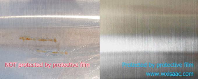 Protective film for stainless steel hairline finish (HL finish)