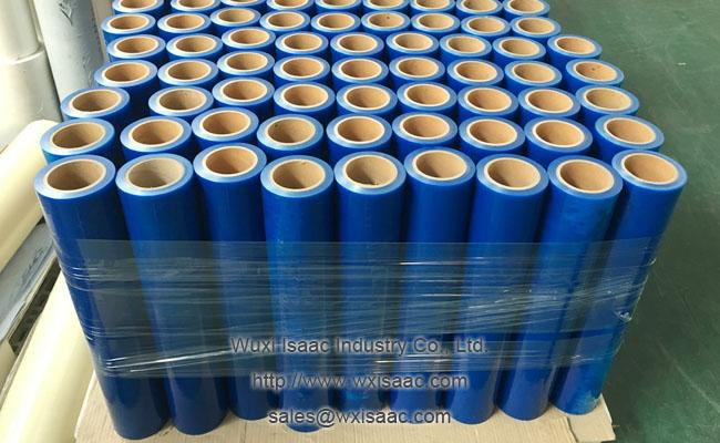 Excellent puncture resistance duct shield residue free temporary pe protective film