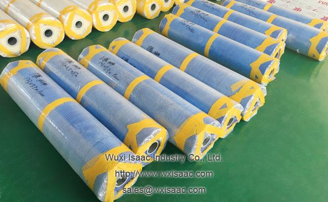 100 micrometers x 1000mm x 400m low viscosity protective film for bright annealing stainless steel