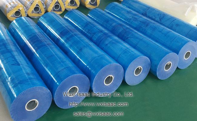 50 micron scuff resistance eco friendly protective film for sus304ba with low tack adhesive