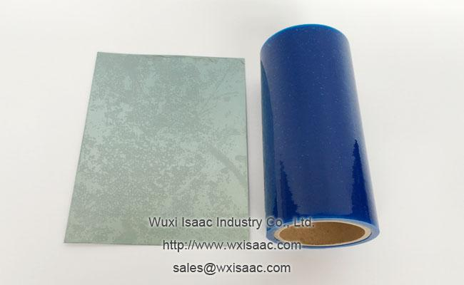 30 micron less viscous scratch proof protective film for stainless steel ba 1500 mm x 1000m