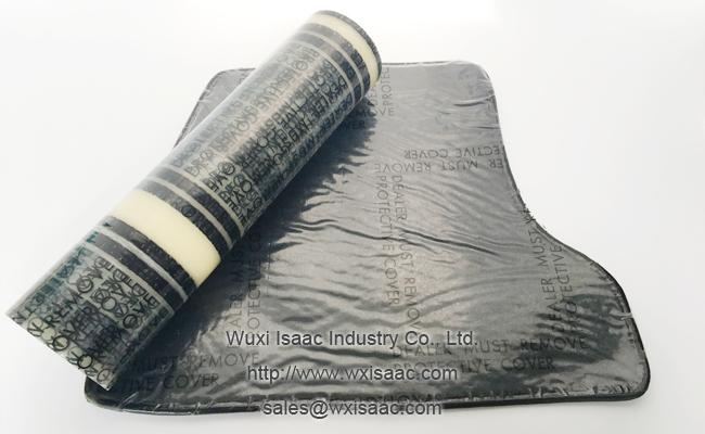 Interior car mats protective film 4 mil 24 inches x 50 feet perforated